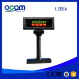 Numberic Display Pole Stand Adjustable Point of Sale Display