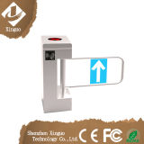 Wide Lane Automatic Swing Barrier Integrated with Card Readers