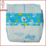 Breathable Backsheet Disposable Baby Diaper with PP Frontal Tape
