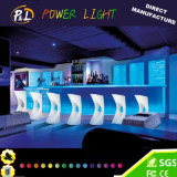 Rechargeable Illuminated Bar Furniture LED Bar Seat Stool