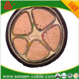 High Quality 0.6/1kv XLPE Insulated Power Cable (YJV)