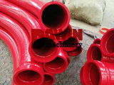 Dn125 5′′ Concrete Pump Induction Heating Pipe (45MN2/55MN)