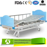 Modern Manual Bed with ABS Side Rail
