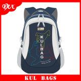 (KL1507) Navy Wholesale Durable Backpack Polyester School Bag for Children