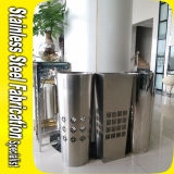 Customized Conical Flower Pot Stainless Steel Planter