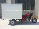 Closed Box Tricycle for Beverages Delivery