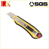 Wholesale High Carbon Steel Plastic Box Cutter Safety Knife