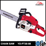 Powertec CE GS Easy Start 58cc Gasoline Chain Saw (YD-PT30-58)