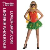 Robin Super Hero Wonder Woman Fancy Dress Costumes (L15233)