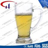 300ml SGS Grade Printed Flower Coffee Glass (CHM8348)