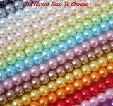 Hot Sale 3mm Half-Round Pearls Flatback Artificial Pearls Jewelry Making Beads