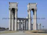 Stone Marble Pillar Granite Columns for Construction (YKPS-1)