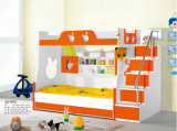 2013 Hot Modern MDF Double Kids Bunk Bed (A01)