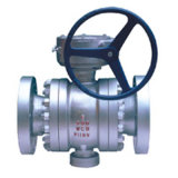 Metal-Seated Fixed Ball Valve/Handle/Worm Gear/Electrical