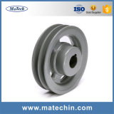 China Supplier Customized Ductile Cast Iron Sand Casting Pulley Wheel