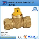 "1/4"" Inch Durable Professional Low Price Brass Spring Check Valve Brass High Quality"