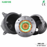 IP68 Waterproof LED Swimming Pool Underwater Light with Stainless Steel Face Ring