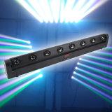 8 10W CREE LED Quad Beam Bar Effect Lights