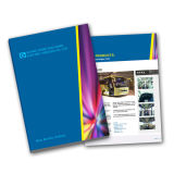 Soft Cover Textbook Printing/Brochure Printing