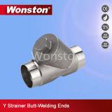 Butt Weld Y-Strainer Pn55 CF8m/1.4408/CF8