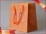 Women Dresses Paper Bag Pink Shopping Paper Bag