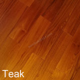 Engineered Wood Flooring /Prifinished Natural Color Burma Teak Flooring