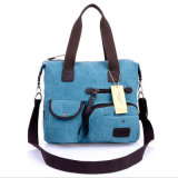 2017 New Canvas Bag Handbag Shoulder Diagonal Cross. (GB#1926)