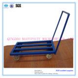 Painting Steel Wheel Barrow Steel Pipe Trolley