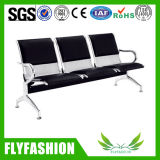 Public Area PU Leather 3-Seater Waiting Chair (SF-75)
