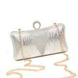 High Quality Designer Fashion Shining Box Clutch Bag
