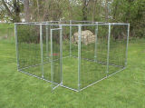 Weatherguard Complete Covered Dog Kennels - 7′6X7′6X4′