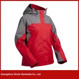 Best Seller Red Women Ski Winter Jackets Coat for Sports (J84)