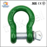 Forged Green Body G209 Screw Pin Bow Shackle