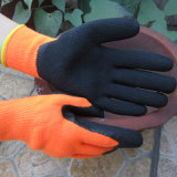 Acrylic Liner Palm Coated Latex Safety Impact Gloves