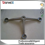 Stainless Steel Claw-Point Connections Used for Glass Curtain Wall