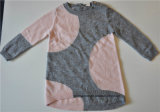 Children Round Neck Patterned Knit Pullover Sweater