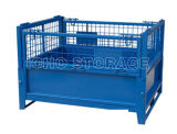 Customized Folded Wire Mesh Storage Cage with Heavy Load