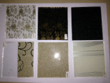 SGCC, En12150, Bsi, Csi Certificated, 3-19mm Decoration Etched EVA Laminated Fabric Glass