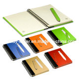 Eco Notebook with Die-Cut Pen (OMD13032)