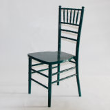 Dark Green Solid Wood Chiavari Chair for Wedding and Event
