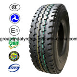 Bis Certificate Hot Sale Truck Tyres for India (10.00R20)