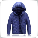 Children Men Winter Down Jacket Solid Silm Fit Thin Light Clothing 601