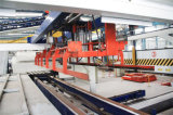 High Output Extruded Wall Panel Production Line with New Technology