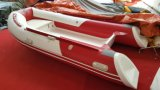 3.6m 11.8FT Rib360b Recsue Boat with Hypalon Fiberglass Hull Rigid Inflatable Boat Hot Sale