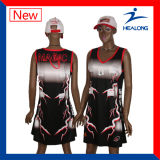 Fully Dye Sublimated Blank Netball Uniform