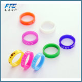 Colorful Silicone Ring with Custom Logo