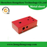 Red Sheet Metal Fabrication Cabinet