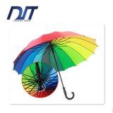 Business Men Straight Bar Rainbow Umbrella Promotion Gift