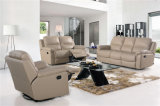 Genuine Leather Chaise Leather Sofa Electric Recliner Sofa (716)