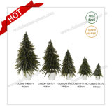 H24-70cm Pot Flower Winter Artificial Table Christmas Tree Decoration